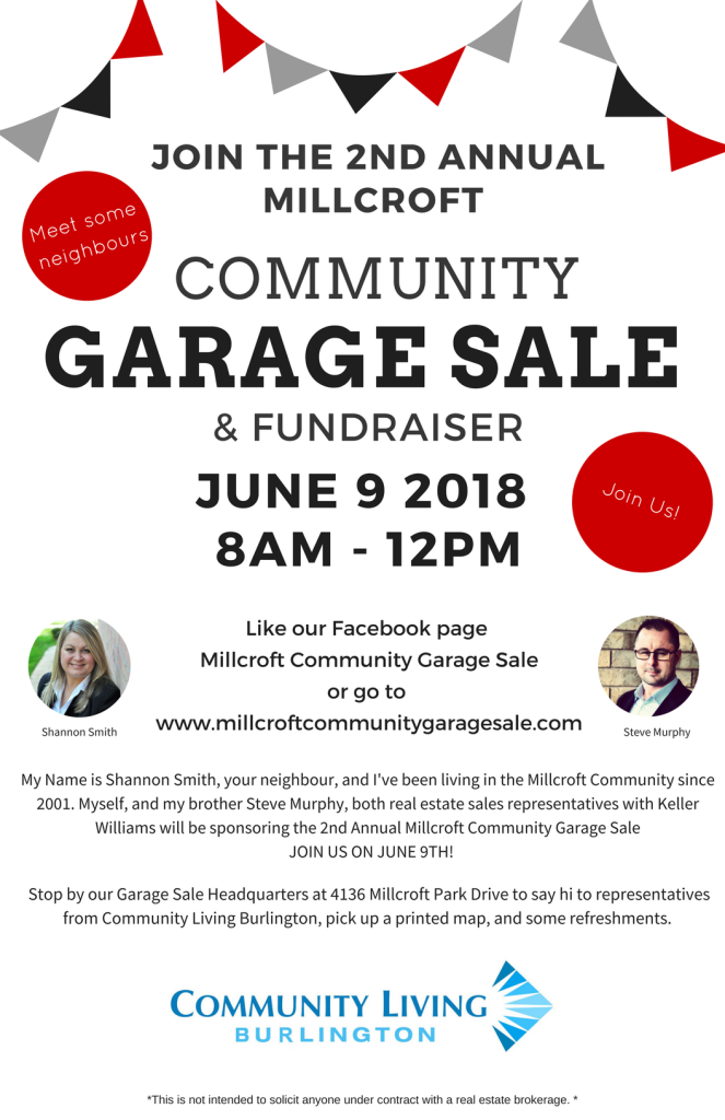 copy of copy of 11 x 17 community garage sale poster